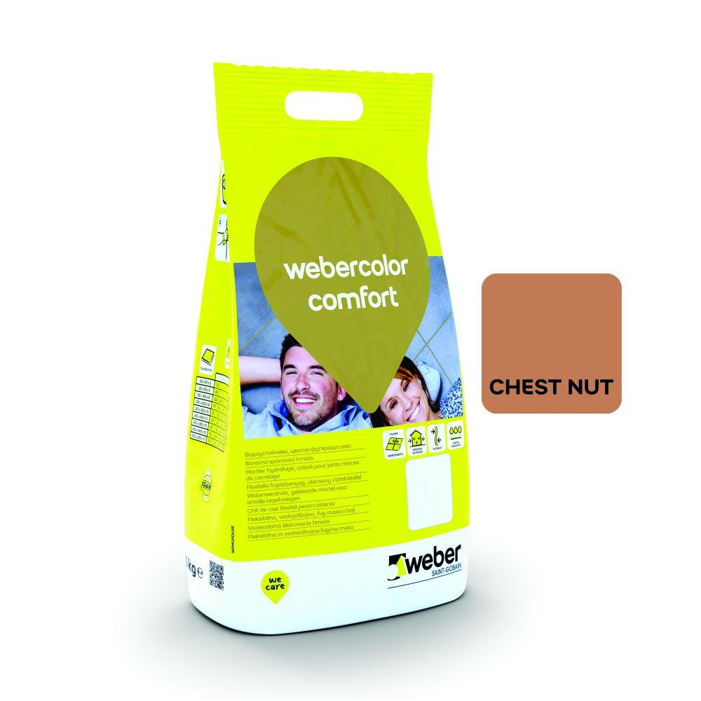Chit De Rosturi 2 Kg Weber Comfort Chestnut