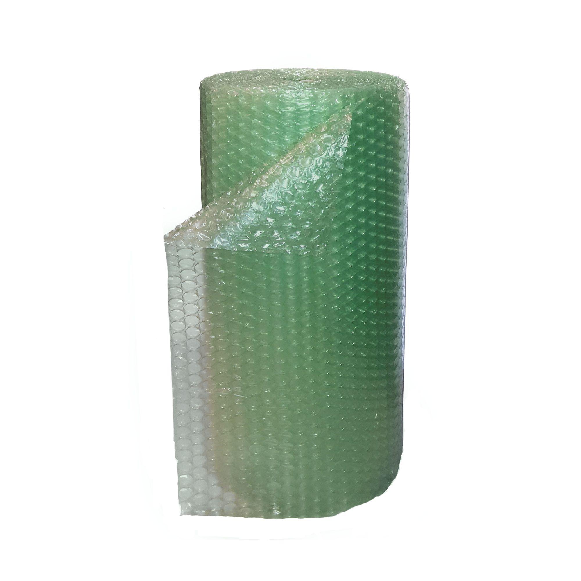 Folie Cu Bule Mici De Aer Pentru Protectie 1 X 50 M Verde