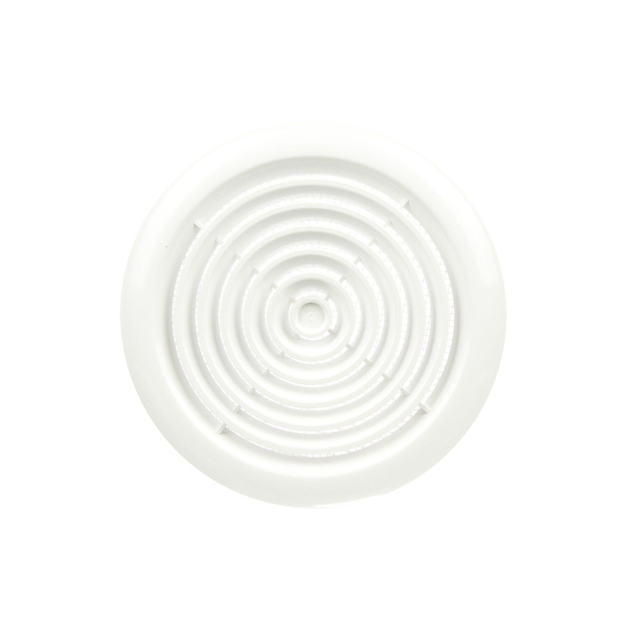 Grila ventilatie tavan 10 cm plastic