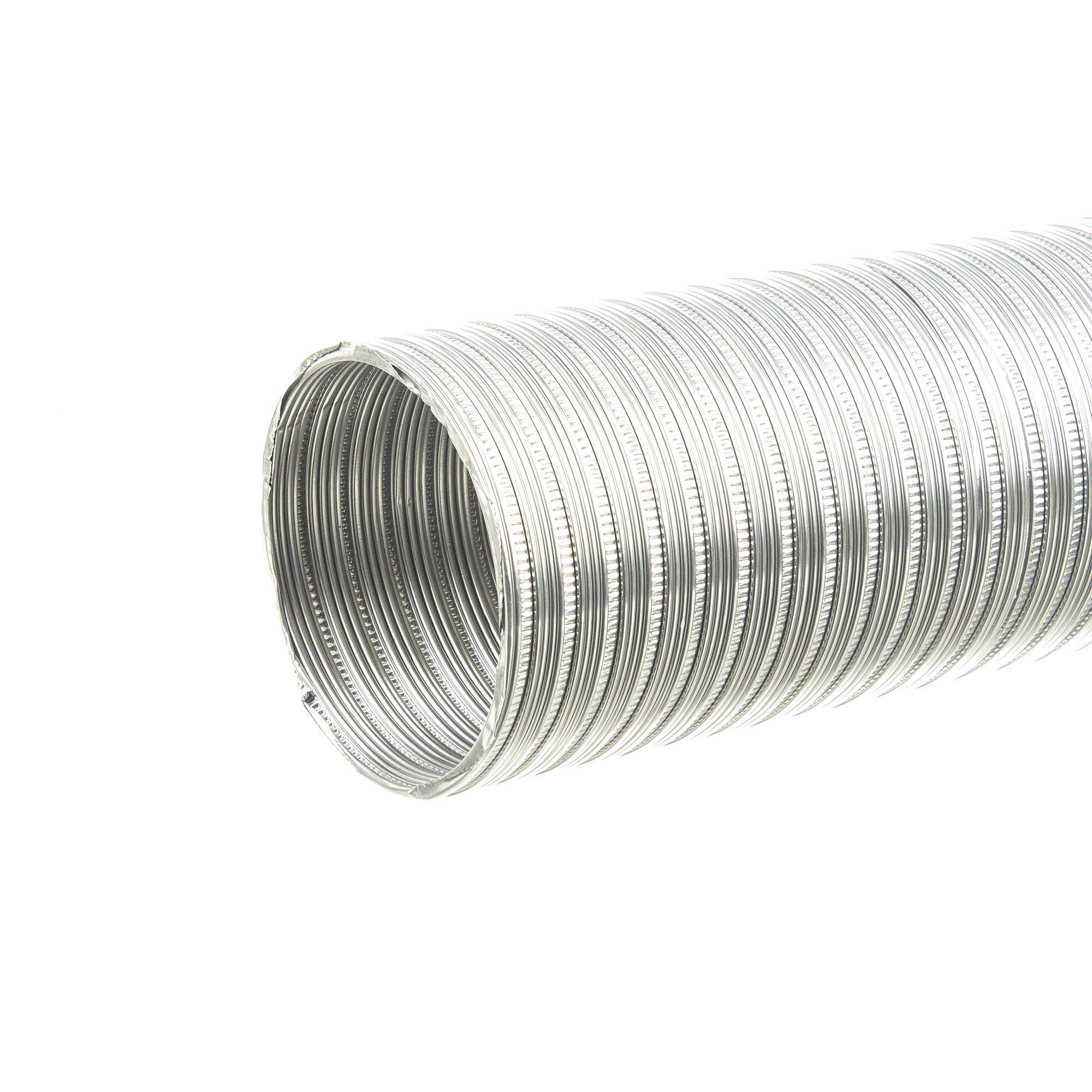 Tub flexibil aluminiu diametru 160 mm / 3 metri liniari