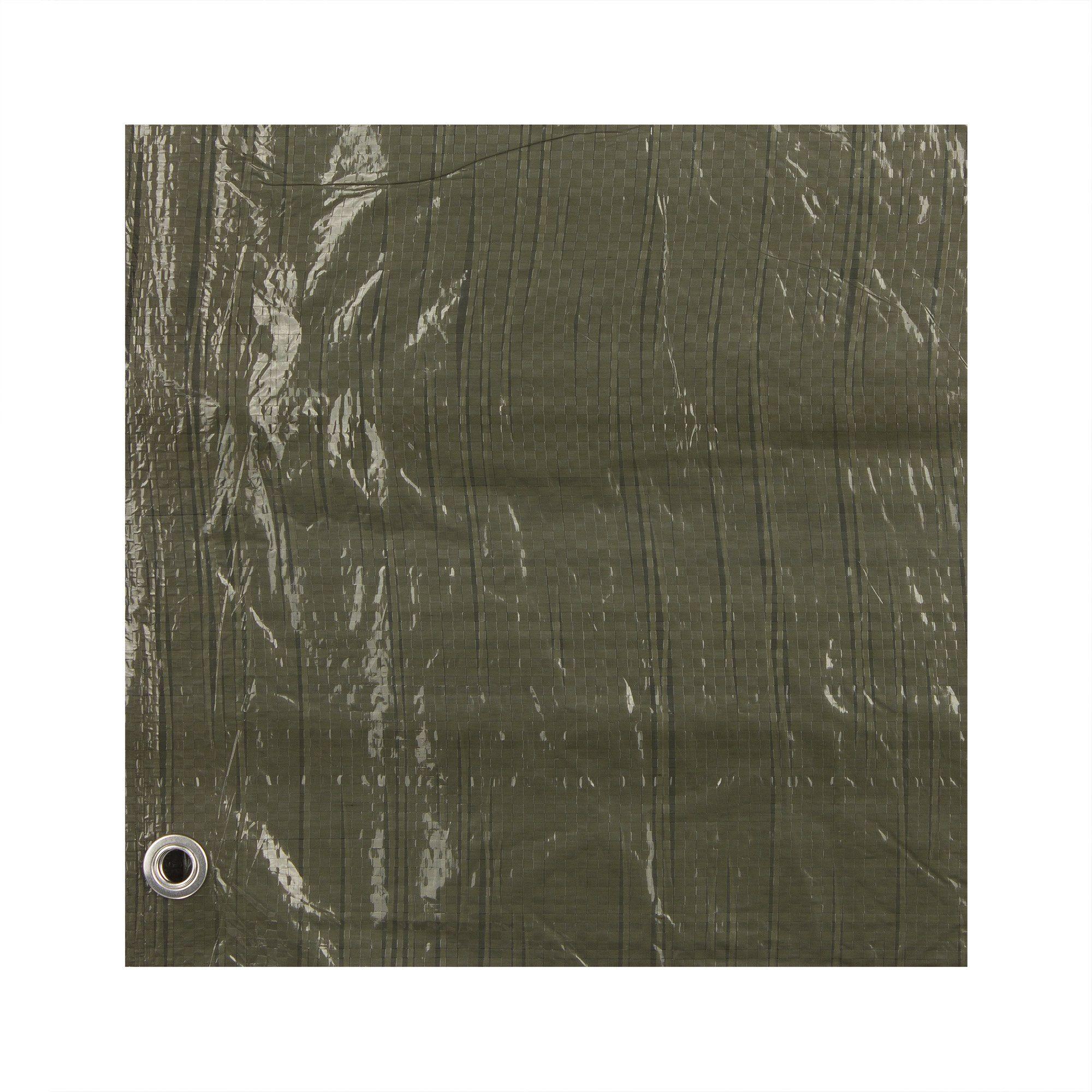 Prelata verde 5 x 8 m 70 gr/mp