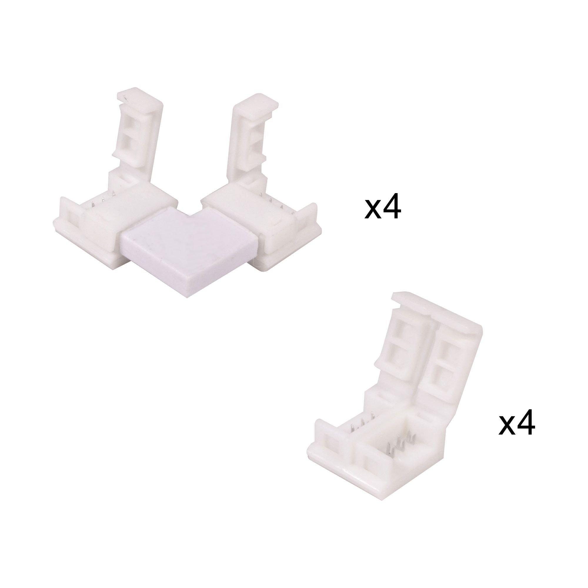 conector kit ledflexi 4 pin