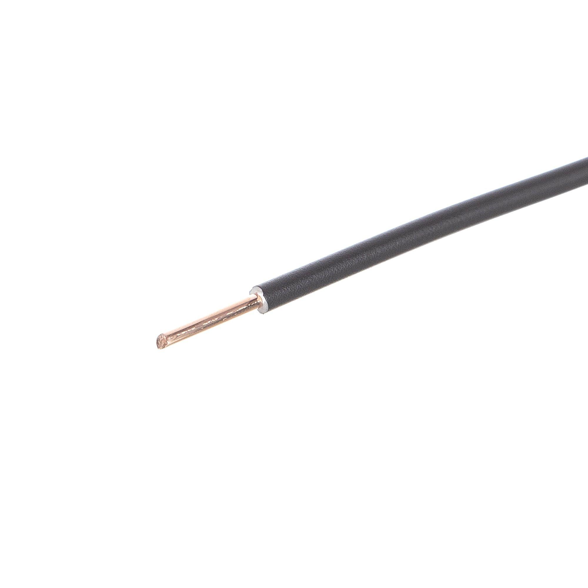 Cablu electric FY 1.5 mmp H07 V-U 1 m negru