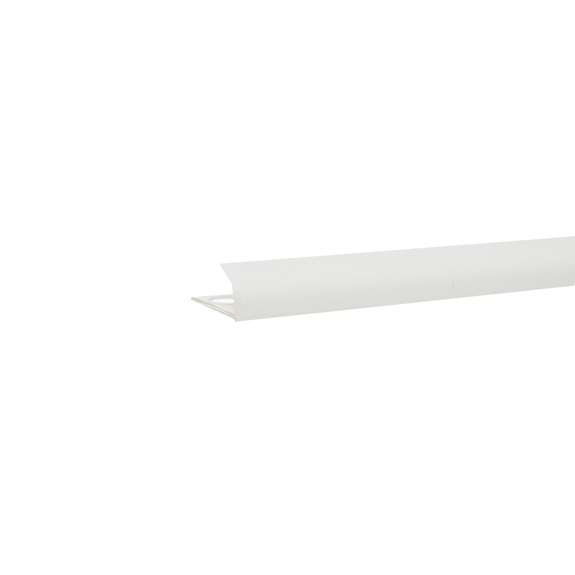 Profil colt exterior PVC 9 mm x 2.5 m EU01