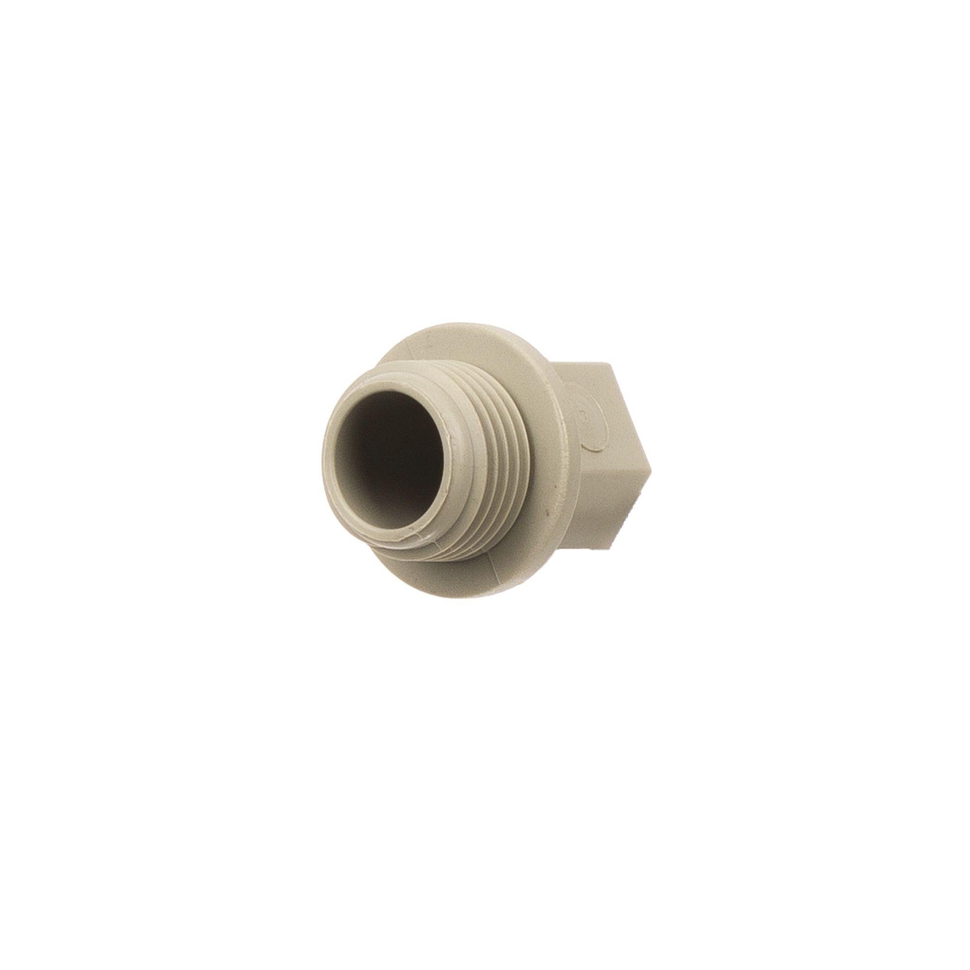Dop FE PPR gri D20 x 1/2' PN25