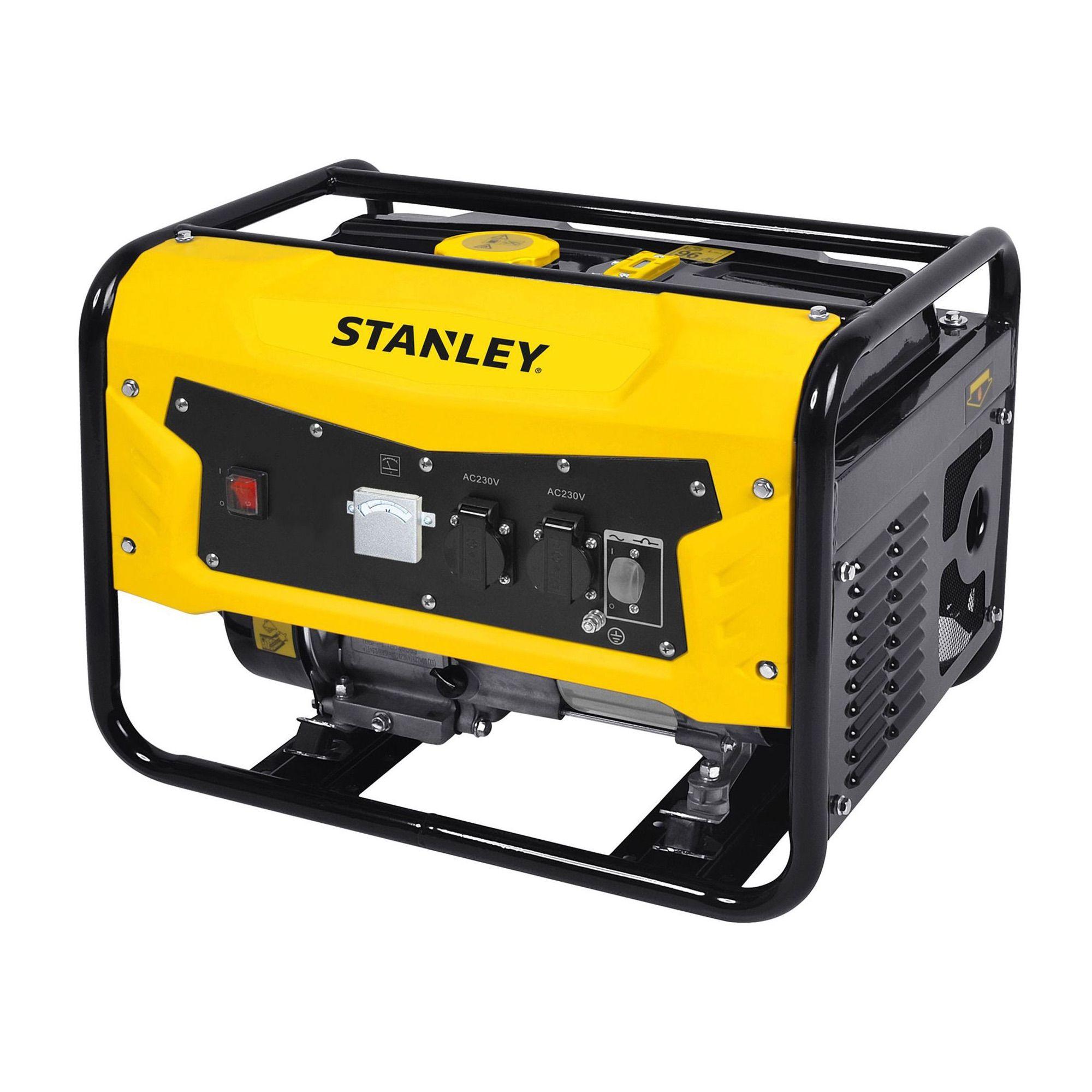 Generator 3.1 kW AVR 15 litri 2 x 220 V Stanley