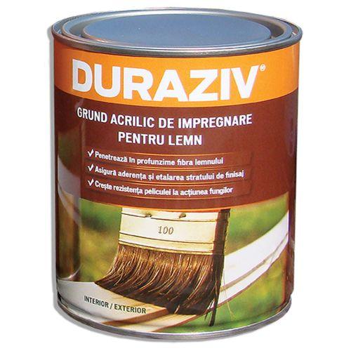 Grund acrilic incolor pentru lemn 4 l