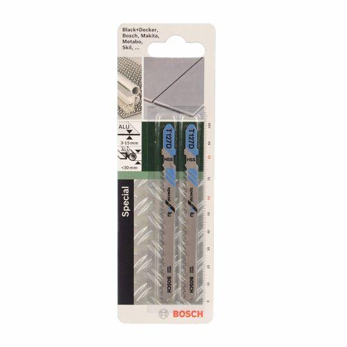 Set 2 panze fierastrau vertical aluminiu 30 mm Bosch