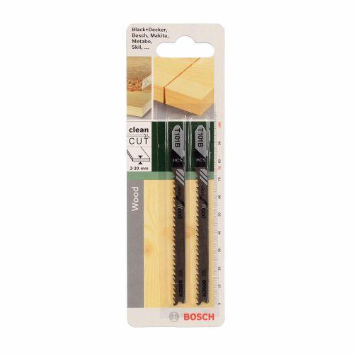 Set 2 panze fierastrau vertical T lemn melaminat 30 mm Bosch