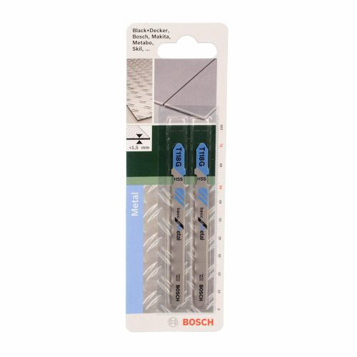 Set 2 panze fierastrau vertical T 118 g Bosch