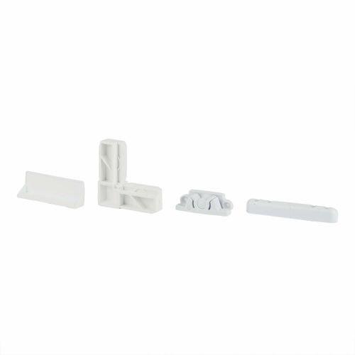 Set accesorii pentru fereastra anti-insecte alb