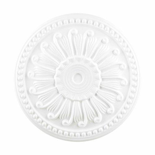 Rozeta polistiren expandat, model spirala, diametru 46 cm