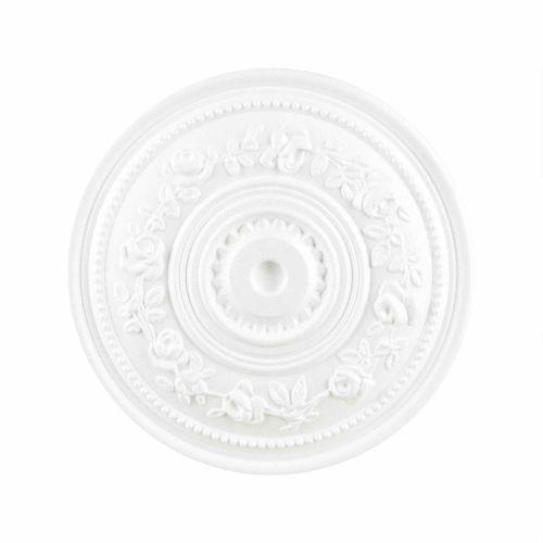 Rozeta polistiren expandat, model trandafir, diametru 40 cm