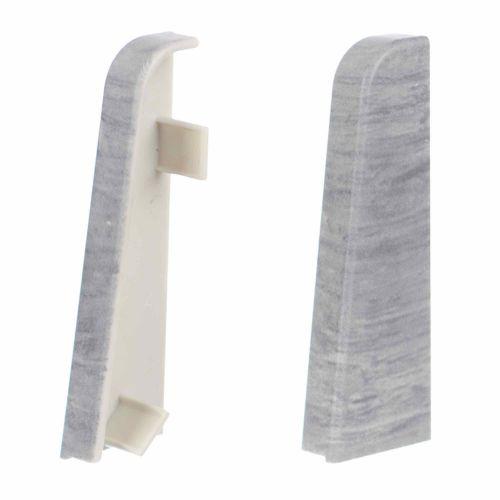 Terminatii PVC 136 stejar argintiu/gri