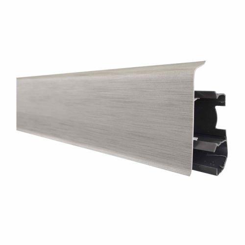 Plinta parchet PVC 70 x 2500 mm 70.41 aluminiu deschis