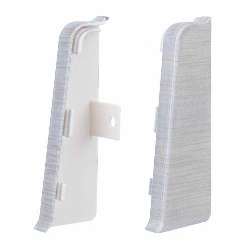 Terminatii PVC 70.41 aluminiu deschis
