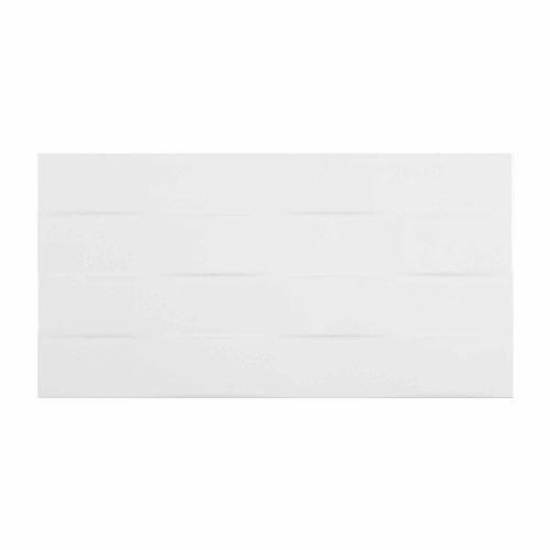 Faianta 25 x 50 cm Tonic 3D Line alb
