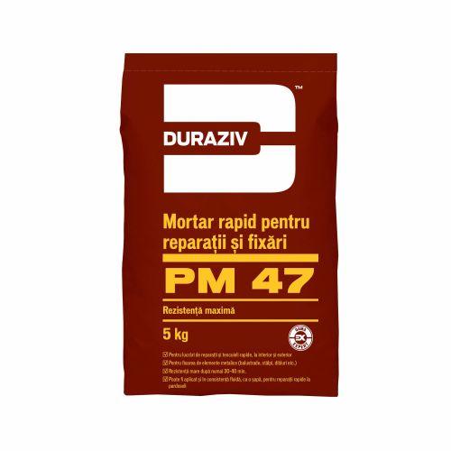 Mortar rapid reparatii interioare Duraziv 5 kg
