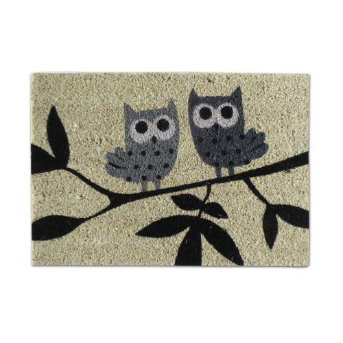 Covoras intrare 40 x 60 cm Owl