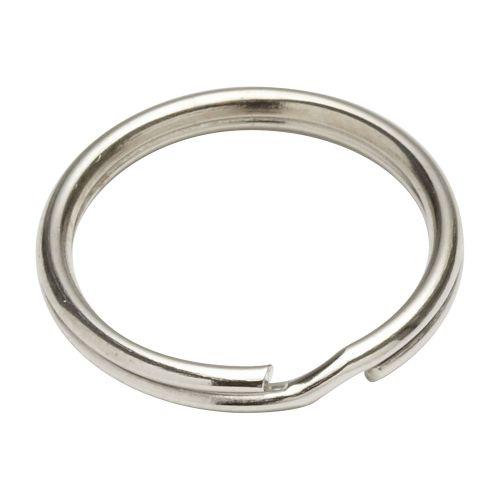 Inel pentru chei otel nichelat 18 mm
