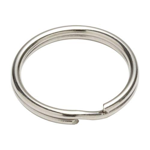 Inel pentru chei otel nichelat 22 mm