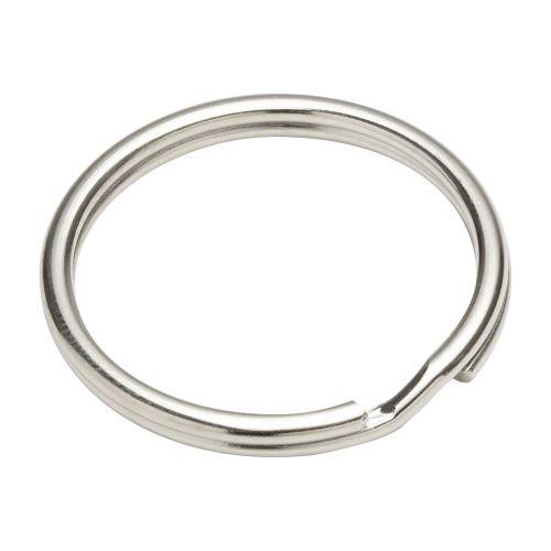 Inel pentru chei otel nichelat 26 mm