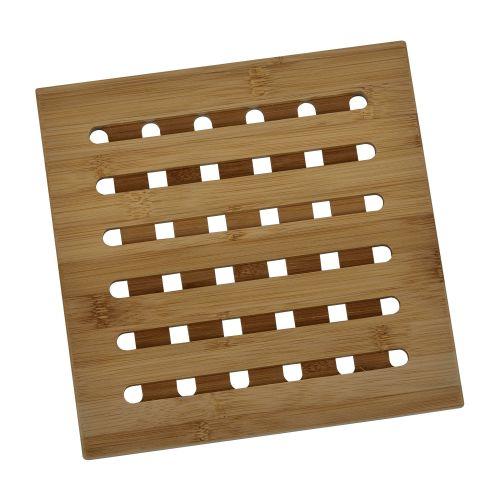 Suport oala incinsa bambus 20 x 20 cm