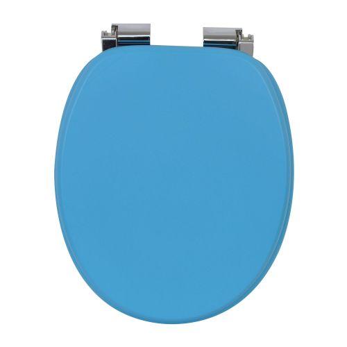 Capac WC MDF Blanka albastru