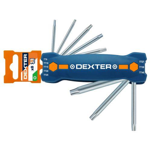 Set 8 chei torx imbus 9 - 40 mm Dexter