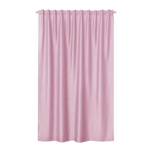 Draperie roz uni, aspect lucios, 200 x 280 cm, New Silka Inspire