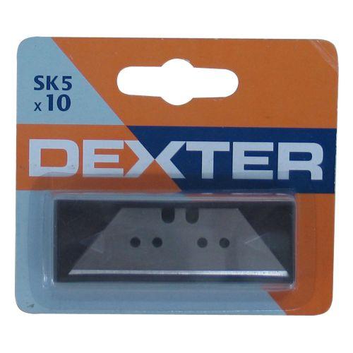 Lame pentru cutter 10 bucati trapez Dexter