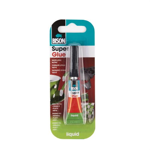 Adeziv Bison super glue 10 x 2 ml