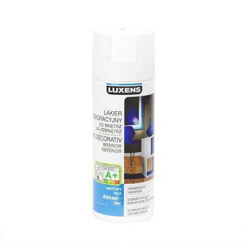 Spray mat Luxens alb 400 ml