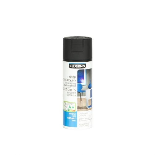 Spray mat Luxens negru 400 ml