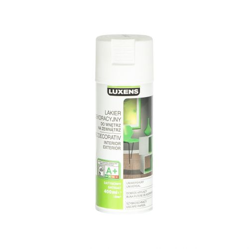 Spray satinat Luxens alb 400 ml