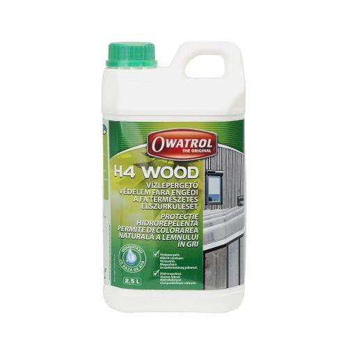 Tratament impermeabilzare lemn Owatrol H4 2.5 l
