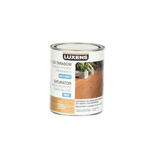 Saturator terase incolor Luxens 1 l