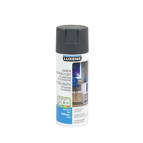 Spray mat Luxens gri zinc 400 ml