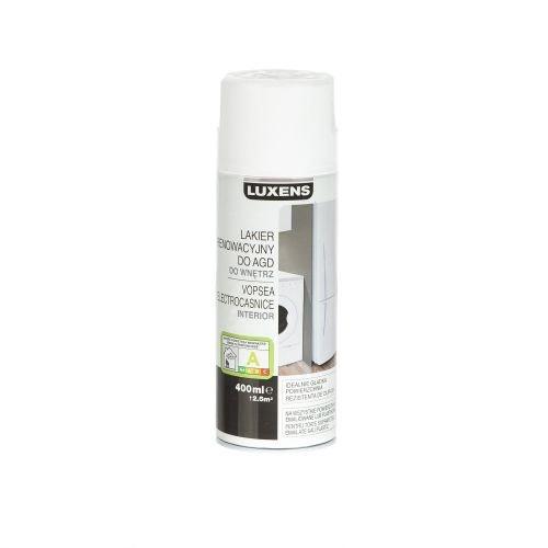 Spray Luxens pentru electrocasnice alb 400 ml