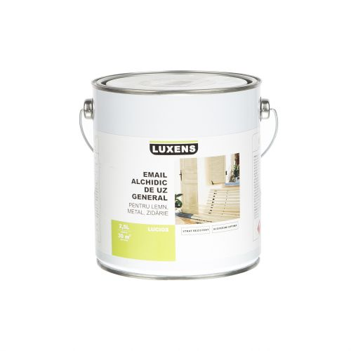 Email solvent Luxens copper brown 2.5 l