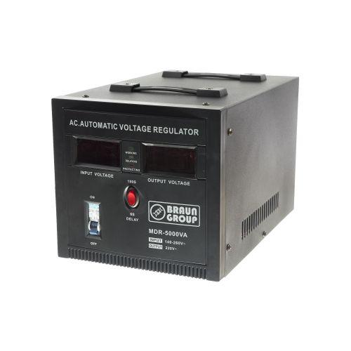 Stabilizator servomotor 5000 VA / 2500 W Braun Group