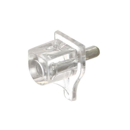 Suporti abs pentru polita ø3mm transparent 16 buc