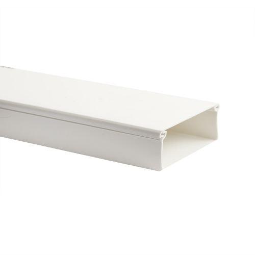 Canal cablu 2 m 15 x 10 mm alb