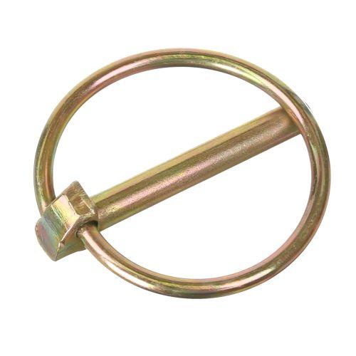 Inel cu clema otel zincat bicromat D6 mm