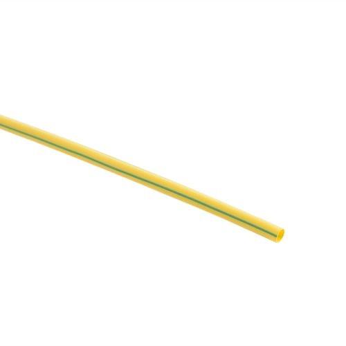 Tub termocontractabil 4.8 - 2.4 mm galben verde