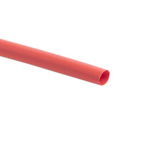 Tub termocontractabil 6.4 - 3.2 mm rosu