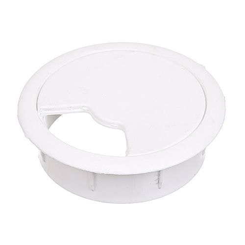 Capac plastic trecere cablu D60 mm alb