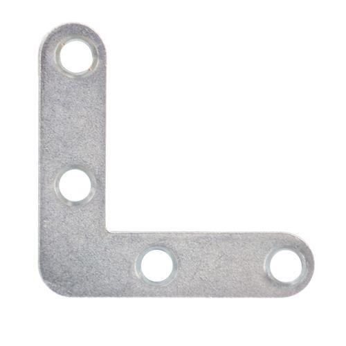 Conector colt plat zincat 40 x 40 x 10 mm
