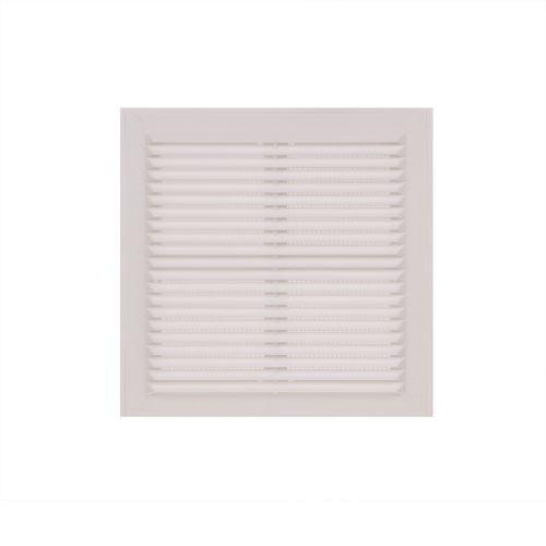 Grila ventilatie 15.4 x 15.4 cm alb plastic