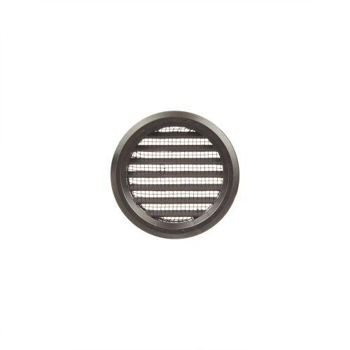 Set 2 grile circulare usa 5 cm maro plastic